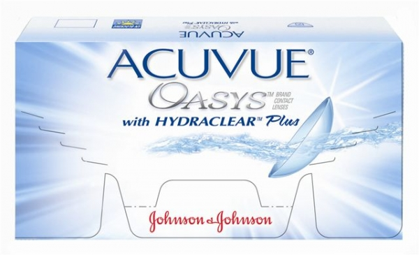 Acuvue Oasys with Hydroclear  6 блистеров 8,4 на -2,00